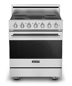 "Viking 30"" 3 Seroes Convection Electric Range - RVER33015BSS"