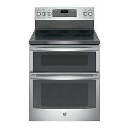 GE 30 IN Free Standing Electric Double Oven Convection Range