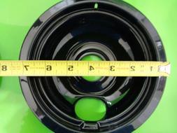 "6"" ELECTRIC RANGE PORCELAIN DRIP PAN, Part# A3162222201"