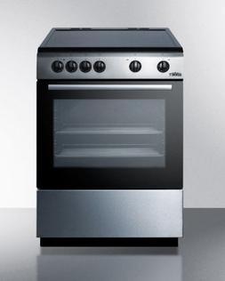 24 wide smooth top electric range