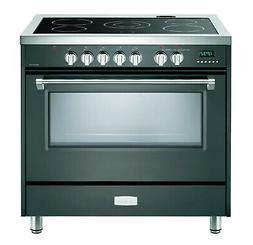 "Verona Designer VDFSEE365SG 36"" Electric Range Oven Convecti"
