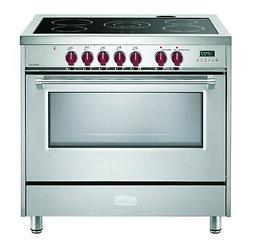 "Verona Designer VDFSEE365SS 36"" Electric Range Oven Stainles"