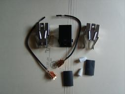 electric range burner receptacle