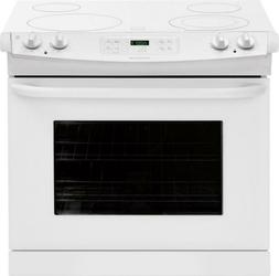 "Frigidaire FFED3025PW30"" White Electric Drop-In Smoothtop Ra"