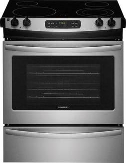 """Frigidaire FFES3026TS 30"""" Stainless Steel Smoothtop Electric"""