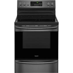 Frigidaire GALLERY Black Stainless Electric Freestanding Ran