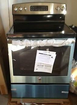"GE -  JB650SFSS   30"" Self-Cleaning Electric Range - Stainle"