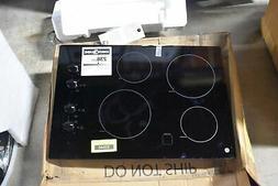 "GE JP3030DJBB 30"" Black 4-Element Electric Cooktop NOB #3264"