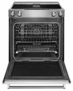 KitchenAid KSEG700EBS Slide in Electric Range 30in Black/Sta