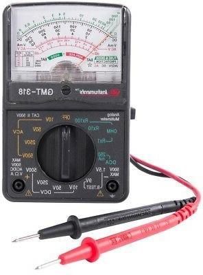 14 range analog multimeter gmt