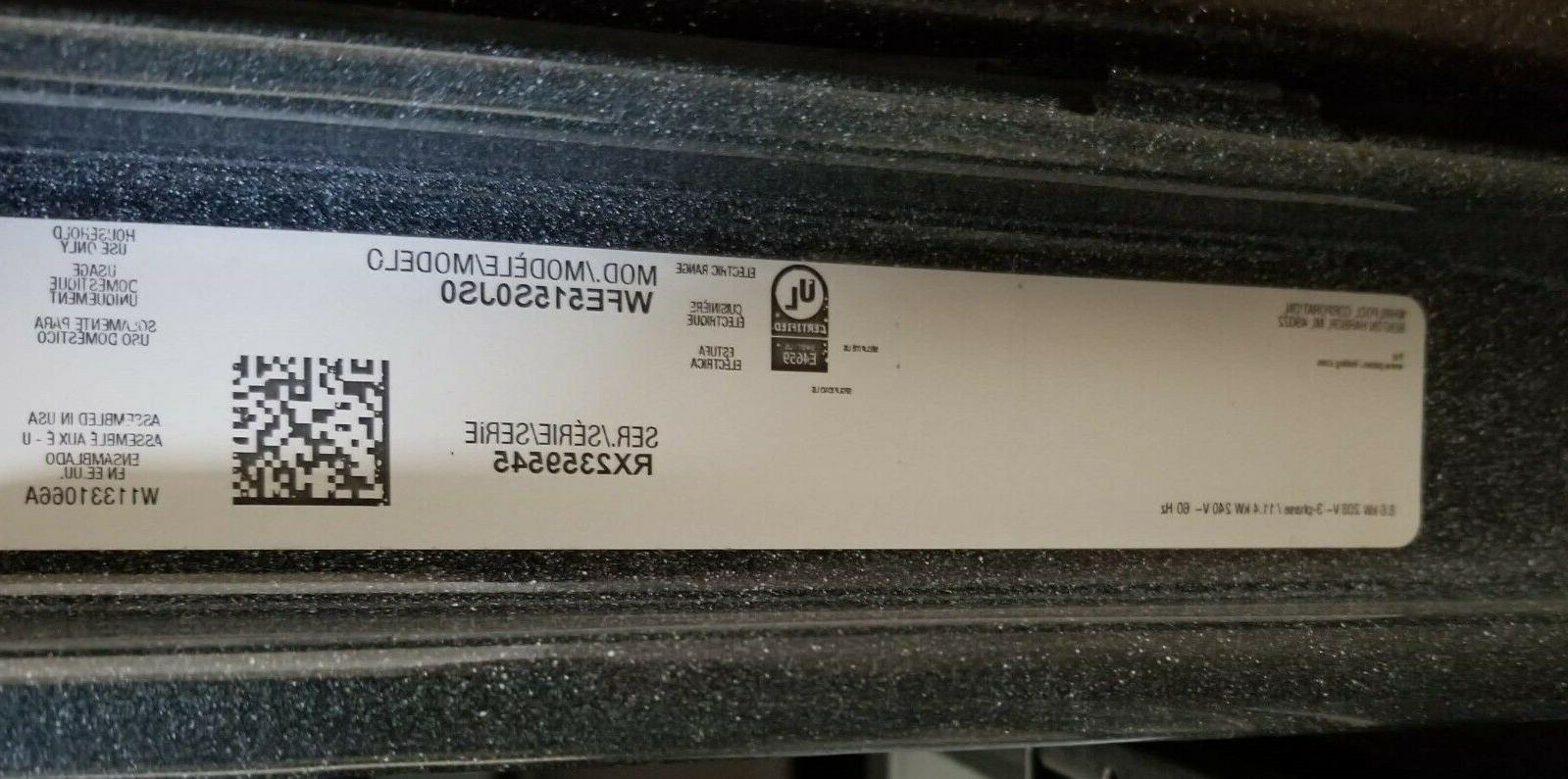 Whirlpool Range - Stainless - WFE515S0JS0 Brand