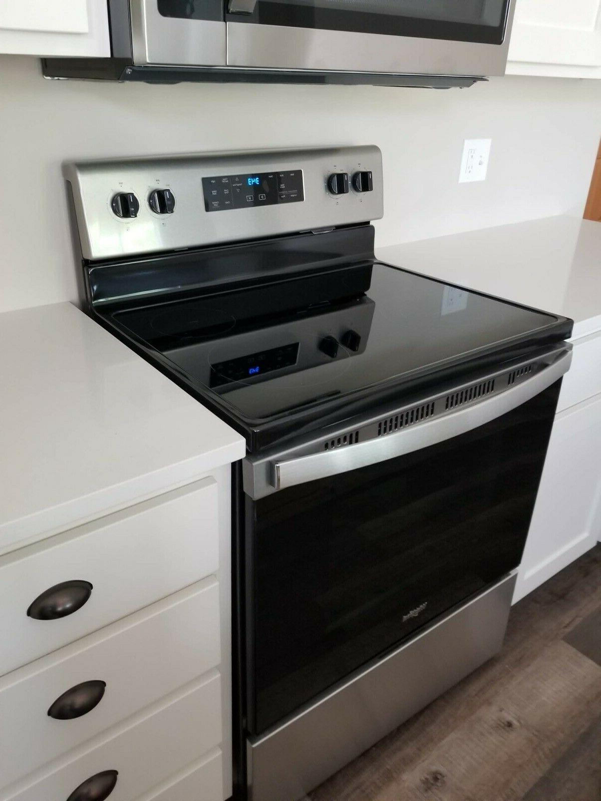30 electric range stainless steel wfe515s0js0 brand