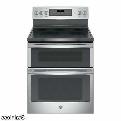 GE Standing Electric Double Convection