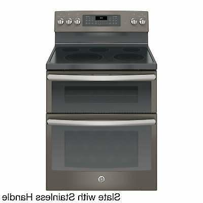 GE 30 Standing Electric Double Convection Range