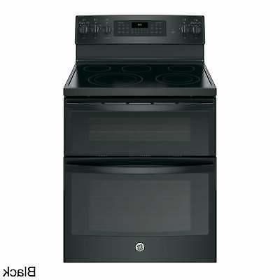 GE IN Free Standing Electric Double Convection Range