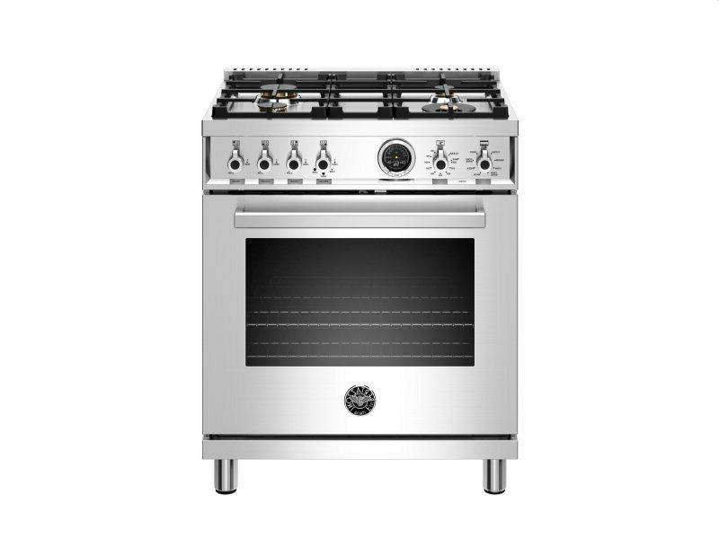 30 inch dual fuel range electric oven