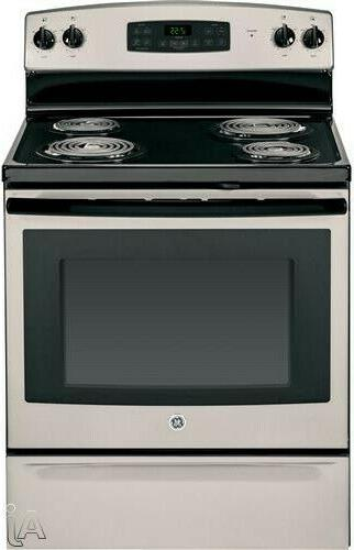 30 inch freestanding electric ran with 4
