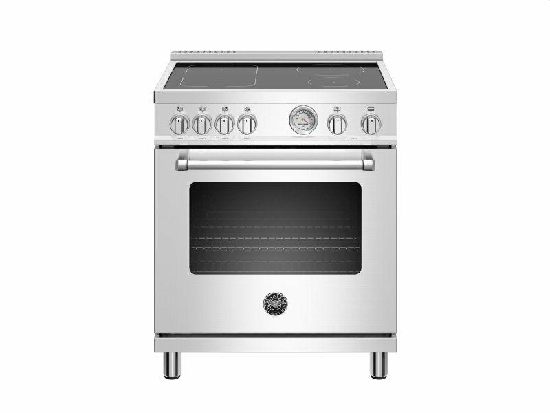 30 inch induction range electric oven stainless