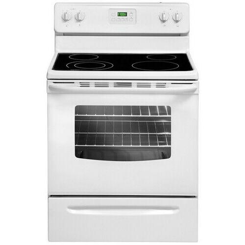 30 manual clean electric range cre3580qw