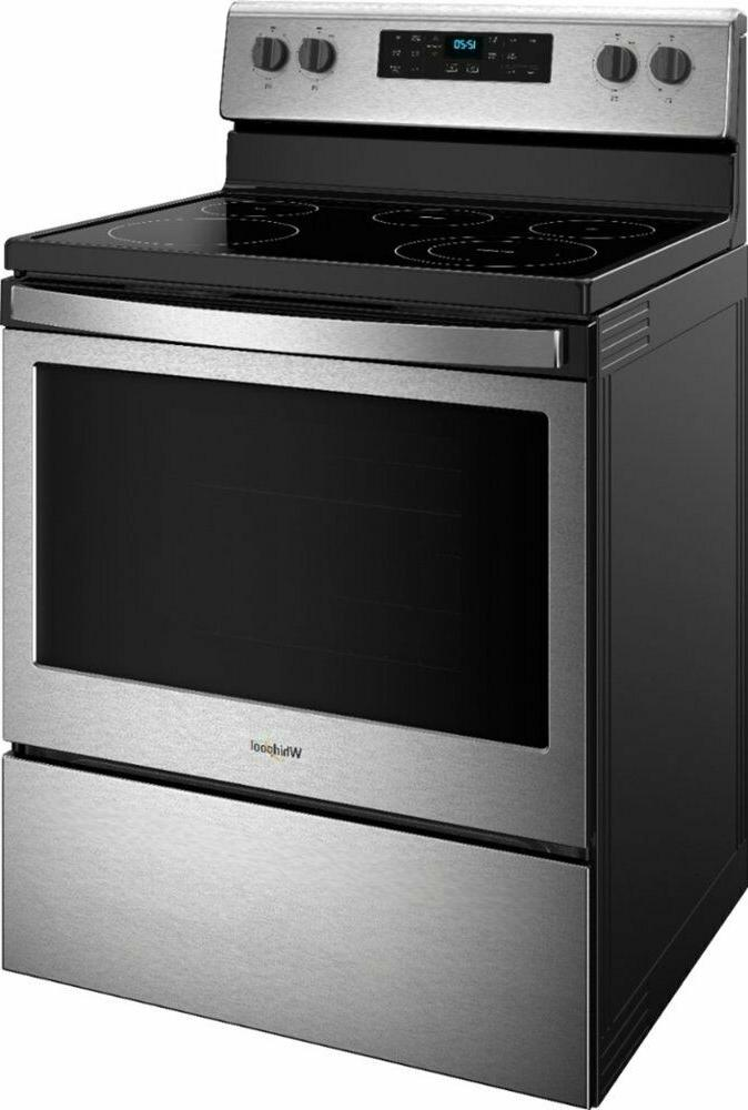 Whirlpool - 5.3 Cu. Ft. Freestanding - Stainless