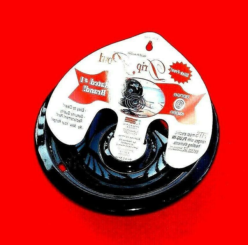 6 Universal Reflector Drip Bowl in Black
