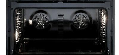 """Verona 36"""" Range Oven White With Hood"""