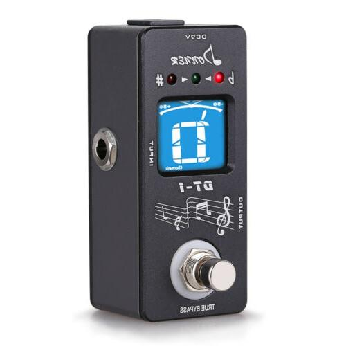 dt 1 electric pedal tuner chromatic wide