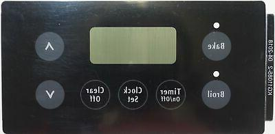 electric range overlay for frigidaire oven black