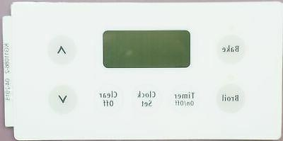 electric range overlay for frigidaire white 316220728