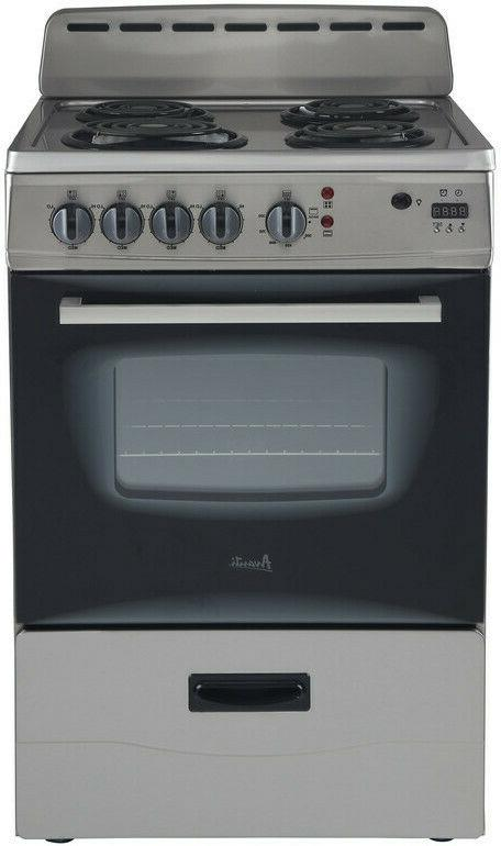 er24p3sg electric stove stainless steel