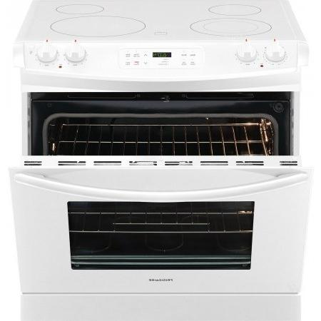 Frigidaire Drop-In Range with Smoothtop Cooktop, White