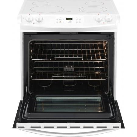 Frigidaire 30 Drop-In with Smoothtop Cooktop, 4 Elements in White