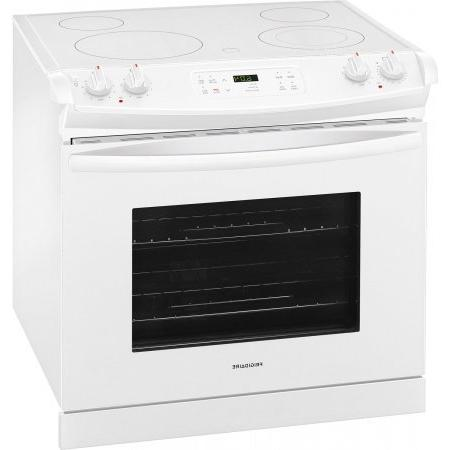 Frigidaire Drop-In Range Smoothtop Cooktop, 4 in White