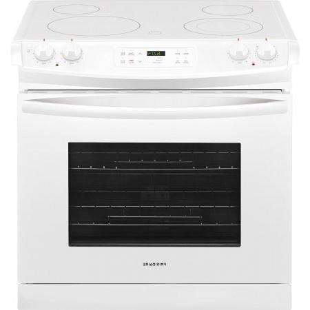 Frigidaire Drop-In Range with Cooktop, White