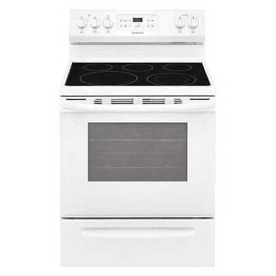 ffef3054tw oven range white 28 1 2
