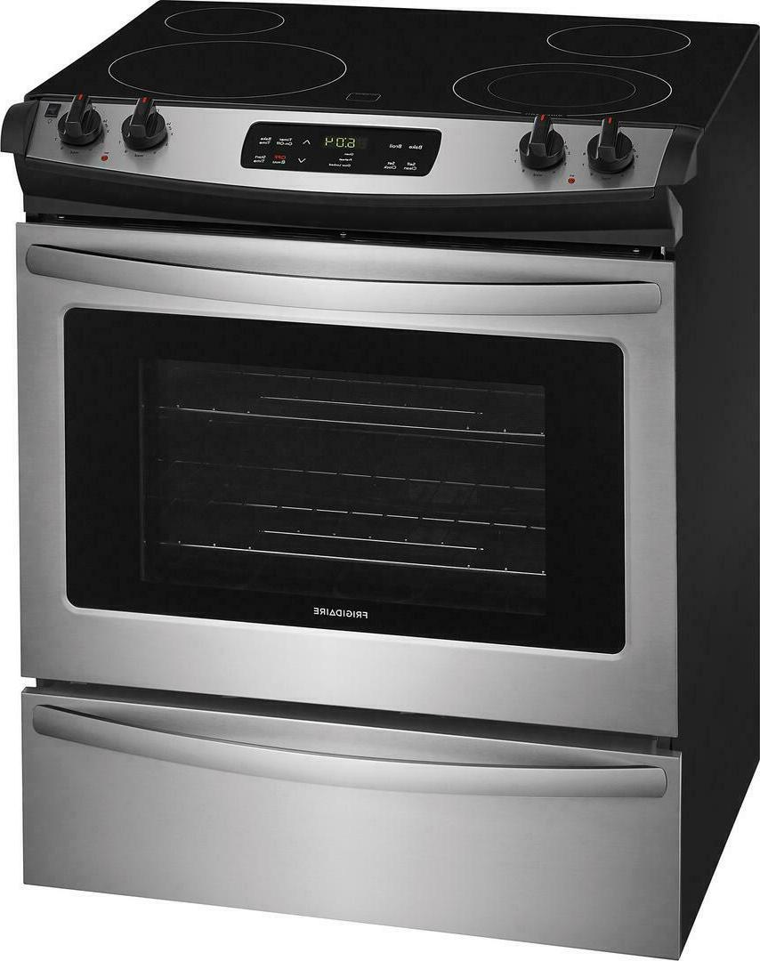 Frigidaire FFES3026TS Stainless Steel Smoothtop Electric Range