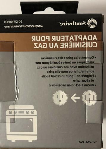 Gas Adapter Plug 220