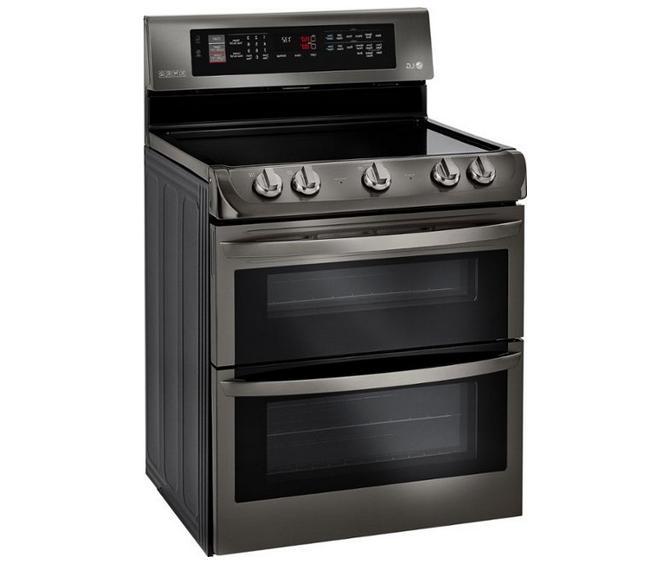 LG LDE4415BD Stainless Double Oven Range