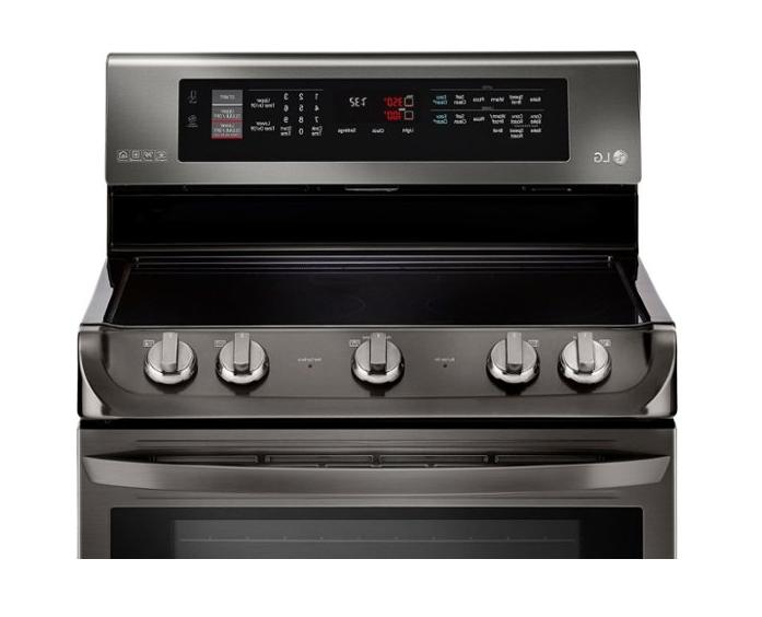 LG Stainless Double Range