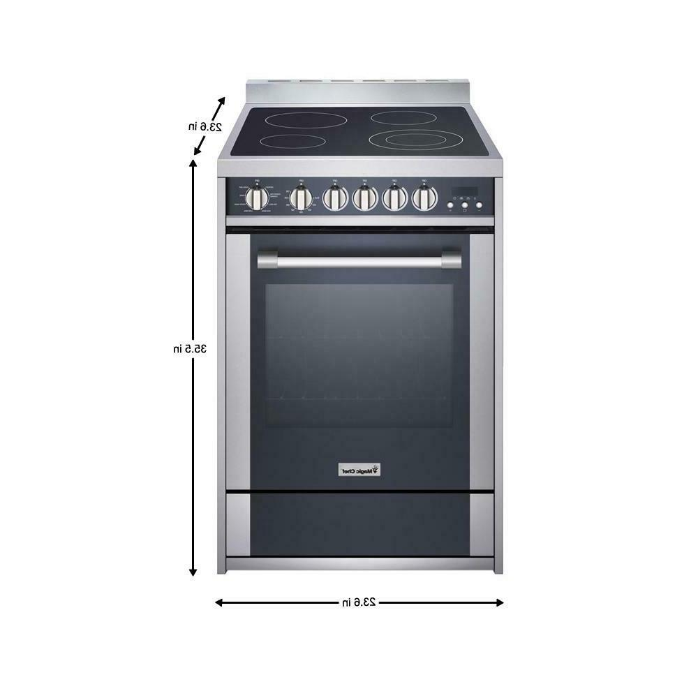 Magic Chef MCSRE24S 2.2 Convection Stainless Steel