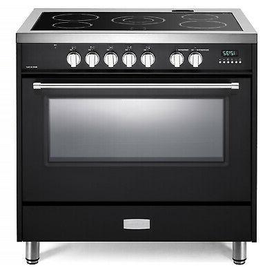 """Verona Designer VDFSEE365E 36"""" Electric Range Oven Convectio"""
