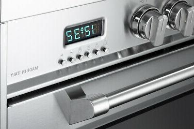 Verona VDFSEE365W Range Convection Oven With Set