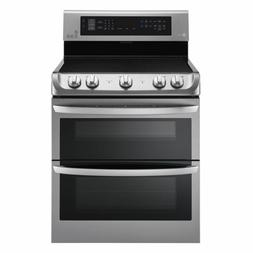 LG LDE4415ST Electric Double Oven Range 7.3 cu. ft - Stainle
