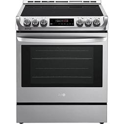 LG LSE4611ST 6.3 Cu. Ft. Stainless Slide-In Electric Convect