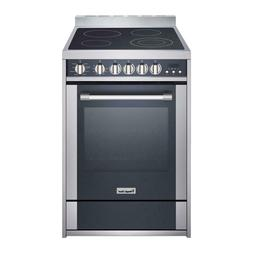 "Magic Chef MCSRE24S 24"" 2.2 Cu-Ft. Electric Range Convection"
