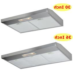multi size 30 36 under cabinet stainless