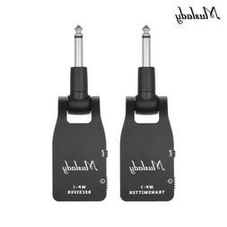 Muslady 2.4G Wireless Electric Guitar System Transmitter Rec