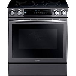 "Samsung NE58K9500SG 30"" Slide-in Electric Range with Smootht"