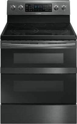 "Samsung NE59M6850SG 30""Freestanding Electric Range -  Black"