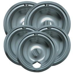 Range Kleen 16675X Style Plated Pans Drip Pan - Silver
